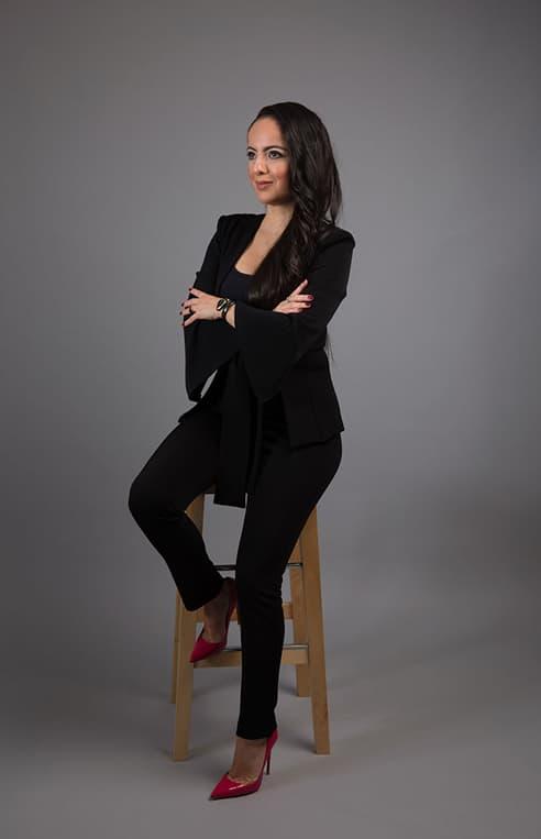 Portrait of Kenza Serhane